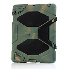 Defender Heavy Extreme-Duty Case med stativ for iPad 2/3/4