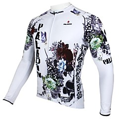 PALADIN Cycling Tops / Jerseys Men's Breathable / Ultraviolet Resistant / Quick Dry / Thermal / Warm Long Sleeve Bike 100% Polyester