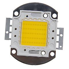 zdm ™ diy 50w alta potência 4000-5000lm luz branca quente LED integrado módulo (32-35v)