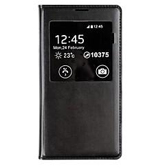 beschermende pu lederen case cover Smart Auto-slaap chipset en waterdicht pad voor Samsung Galaxy S5