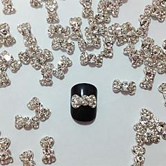 10er Embedded Diamantbowknot-Nagel-Kunst-Dekorationen