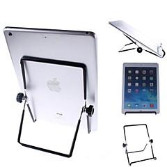 plegable apoyo general para el iPad 2 Mini aire ipad 3 del ipad 2 del ipad Mini iPad mini aire ipad 4/3/2/1 (negro)