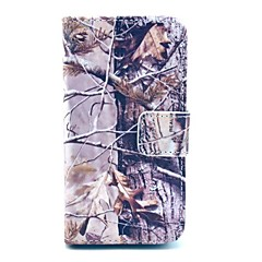 Branch Design PU Full Body Case with Card Slot for iPhone 4/4S