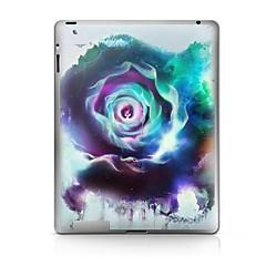 Flower mønster beskyttende Sticker til iPad 1/2/3/4