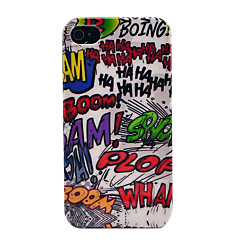 Haha Boom Hard Skin Case for iPhone 4/4s