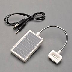 3-LED multifonctions lumière solaire de lumière de lecture Lumière d'urgence Lampe Yable