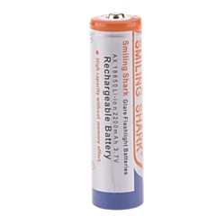3.7V 2200mAh Rechargeable 18650 Lithium Ion Battery  for LED Flashlight