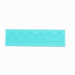 레이스 설탕 기술 실리콘 케이크 형 모양의 돌기 패턴