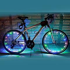FJQXZ 18 LED 2 lägen Colorful Cykling Wheel Light - 1 PC