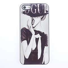 Coque rigide en aluminium Vogue pour iPhone 5/5S