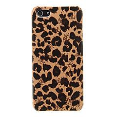 Custodia protettiva leopardo PC pelle per iPhone 5/5S