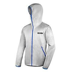 AMADIS Silver Gray Polyester Long Sleeve Anti-UV Fishing Jacket