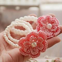 animal doméstico del verano flores hechas a mano se extienden collar para mascotas perros (colores surtidos, tamaños)