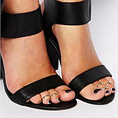 shixin® mody proste toe stopu srebra pierścionek złoty (1 szt)