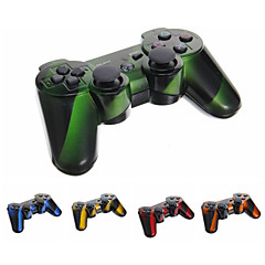 Wireless Bluetooth DualShock3 Sixaxis Rechargeable Pengendali Joypad untuk PS3