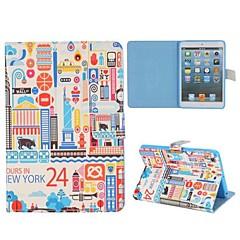sarjakuva paiting new york iPadille mini 3, ipad mini 2, iPad Mini