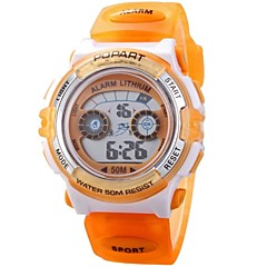 Children Multifunction LED Digital Sports Wrist Watch 50m Waterproof (Assorted Colors)