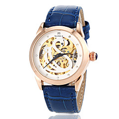 Women's Auto-Mechanical Hollow Swan Pattern Leather Band Wrist Watch (Assorted Colors) Cool Watches Unique Watches