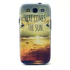 Varten Samsung Galaxy kotelo Kuvio Etui Takakuori Etui Maisema PC Samsung S3