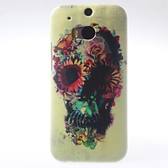 lora Skeleton Shape PC Hard Case för HTC M8