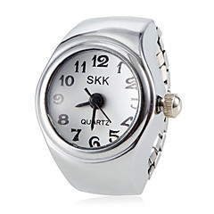Klassisk enkel stil legering kvarts ring watch