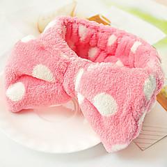schattige strik wassen gezicht japanse hoofdband willekeurige kleur