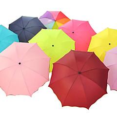Magiska UV-resistent Non-woven tyger Folding Umbrella (Random Color x 1 st)