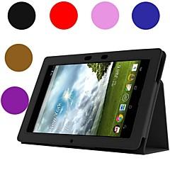 genert bjørn ™ læder tablet cover taske til asus notesblok 10 me301t 10.1 tommer