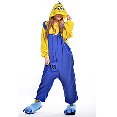 New Cosplay  Despicable Me Dava Polar Fleece Adult Kigurumi Pajama