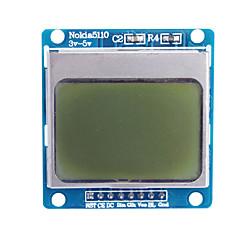 """Mavi arkadan aydınlatmalı 1.6 """"nokia 5110 lcd modülü (arduino için)"""