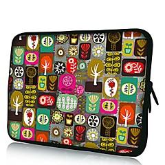 Elonno toutes sortes de fleurs en néoprène pour ordinateur portable manches poche de couverture de sac pour 7'' Samsung Galaxy Tab iPad Mini