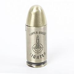 Creative Style Bullet coupe-vent en métal butane briquet à gaz