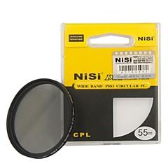 nisi 55mm pro cpl ultra mince filtre circulaire de l'objectif de polariseur