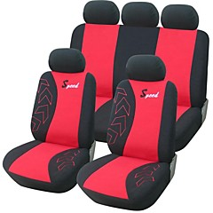 9 PCS Set Car Seat Covers Universal Fit Acessórios Auto