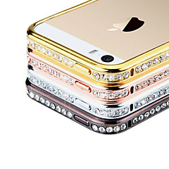 Perfume Diamond Rhinstone Metal Bumper Frame Case for iPhone 4/4S  (Assorted Colors)