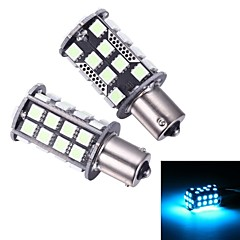 Merdia 1156 8W 200LM 40x5050SMD LED Ice Blue Light for Car Turn Signal Light /Reading Light(Pair/ 12V)