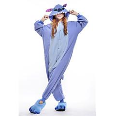 Pyjama adulte polaire bleu Stitch
