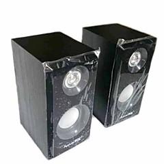 Altavoces Reallink ® Professional Computer caja de sonido de madera USB 2.0 Audio Multimedia Subwoofer2 Dual Channel PC Portable Network