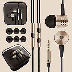 DSD® Top Quality Alloy Surround Sound 3.5mm In-ear Earphone Headset for Samsung and Other Andriod Phones(Assorted Color)