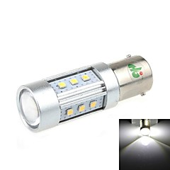 1156 15W 15x2323 SMD 1000LM 6500K Luz Branca LED para backup Car Light (DC 12-24V)