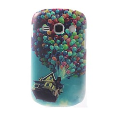 Colorful Balloons Pattern PC Hard Case with Black Frame for Samsung Galaxy 6810
