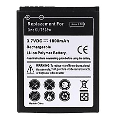 1800mah batterie lithium-ion rechargeable pour t528w htc