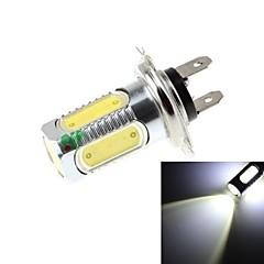 H7 7.5W  5xCOB LED 700lm 6500k White Light LED For Car Headlamp - 10-30V