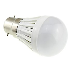 2W B22 Ampoules Globe LED A50 10 SMD 2835 180 lm Blanc Froid AC 100-240 V