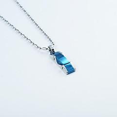 Fashion Titanium Steel Special Shape Pendant Necklace