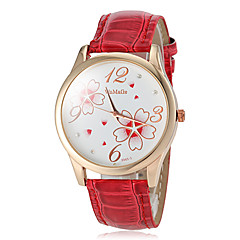 Women's Watch Flower Pattern Gold Case Cool Watches Unique Watches