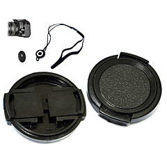 KUSHOP JNJTG-43MM 43mm Lens Cap for Canon Powershot Pro1 with Holder Leash Strap