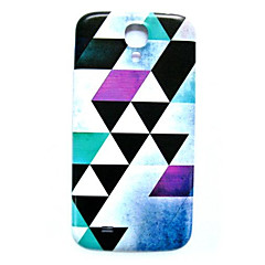 Geometry Pattern Thin Hard Case Cover for Samsung Galaxy S4 I9500
