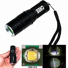 ZHISHUNJIA ZSJ209B-Q5 3-Mode 1xCree XP-E Q5 Zoom LED Flashlight (400LM,1x16340,Black)