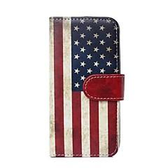 Varten iPhone 6 kotelo / iPhone 6 Plus kotelo Lomapkko / Korttikotelo / Tuella / Flip / Kuvio Etui Kokonaan peittävä Etui Lippu Kova